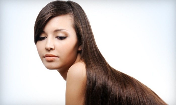 Sensia Studio & Japanese Day Spa - Great Uptown: $175 for a Brazilian Keratin Treatment and Antihumidity Makeup Application at Sensia Studio & Japanese Day Spa (Up to $475 Value)