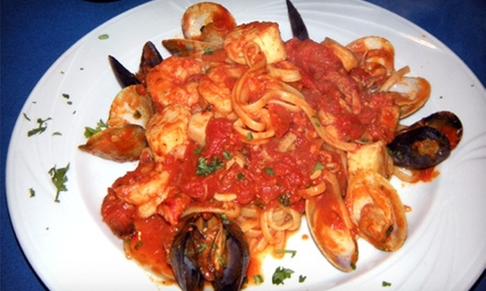 Luna Blu - Annapolis: $15 for $30 Worth of Italian Dinner Fare and Drinks at Luna Blu in Annapolis (or $6 for $12 Worth of Lunch)