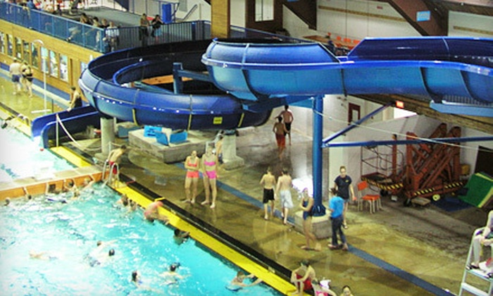 The Works  - Central St. John's: Swimming Package for Two or Family of Four with Admission to The Aquarena and Waterslides at The Works (Up to 56% Off)