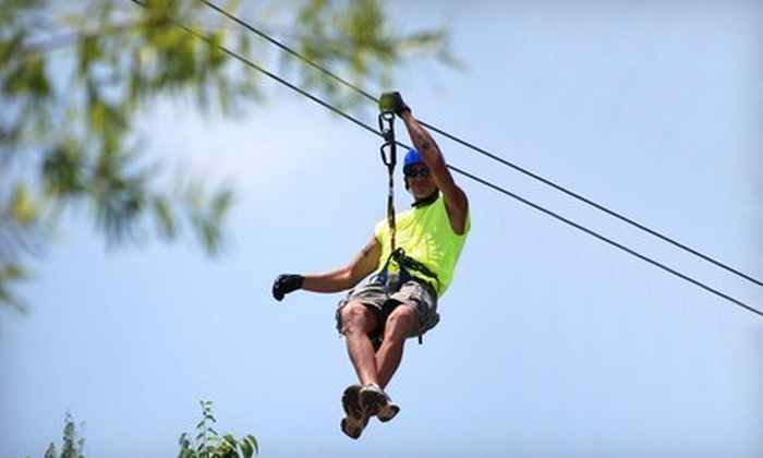 Adventure Ziplines of Branson - Branson: 'Dallas' Zipline Canopy Tour and/or Sky Surfer Ride from Adventure Ziplines of Branson and Sky Surfer-2 Options