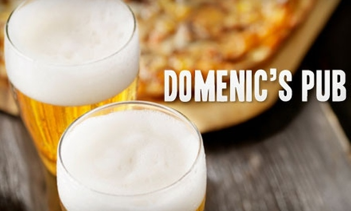 Domenic's Pub - Cuyahoga Falls: $10 for $20 Worth of Pub Fare and Drinks at Domenic's Pub