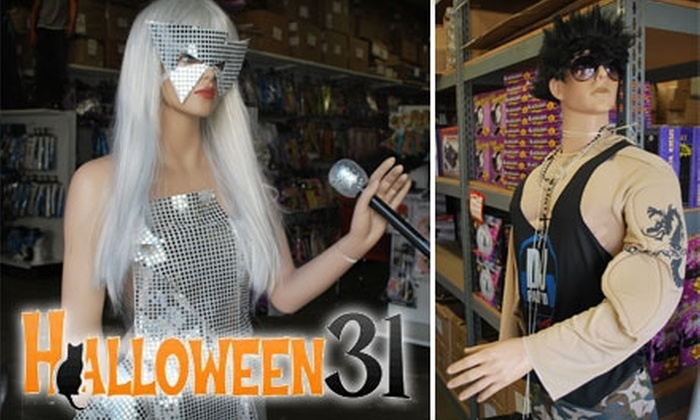 Halloween31 - Corona: $8 for $16 Worth of Halloween Costumes, Makeup, and More at Halloween31