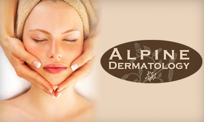 Alpine Dermatology - Alpine: $60 for a Glycolic Chemical Peel and Blue- or Red-Light Therapy at Alpine Dermatology in Alpine ($125 Value)