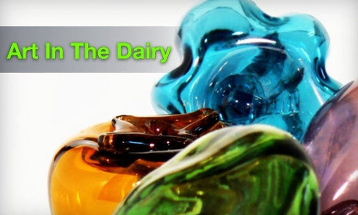 Art In The Dairy  - Pawtuckett: $25 for a Make & Take Class at Art In The Dairy ($50 Value)