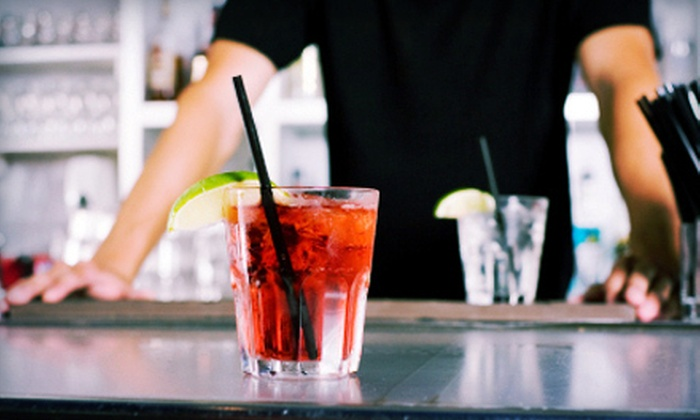 786-Bartend - Multiple Locations: Four-Hour Cocktail Workshop or a 40-Hour Ultimate Bartending Course at 786-Bartend (Up to 66% Off)