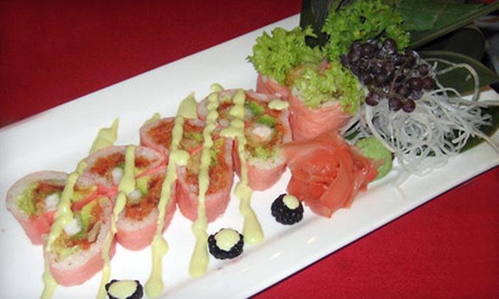 Sakana Sushi - Plymouth - Wayzata: Sushi and Japanese Cuisine at Sakana Sushi in Wayzata (Half Off). Five Options Available.