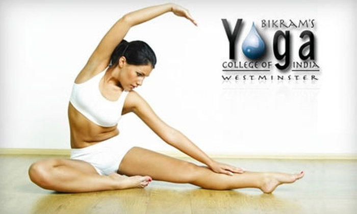 Bikram Yoga of Colorado - Multiple Locations: $49 for Six Weeks of Unlimited Classes at Bikram Yoga of Colorado ($195 Value). Choose Between Two Locations.