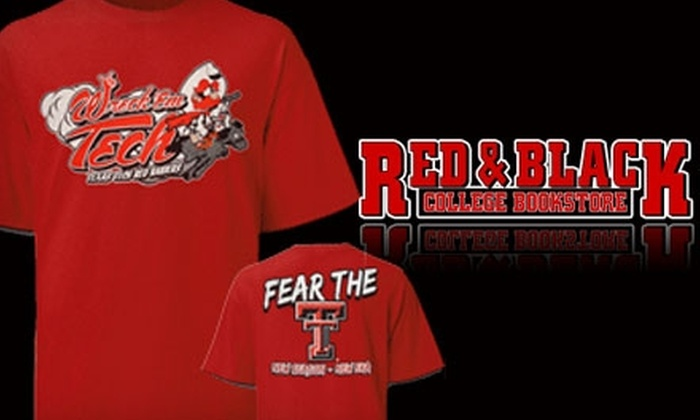 Red & Black Bookstore - Multiple Locations: $20 for $40 Worth of Merchandise at Red & Black College Bookstore