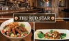 Red Star Bar & Grill - Fells Point: $15 for $30 Worth of Upscale Bar Fare, Brunch and Drinks at The Red Star Bar & Grill