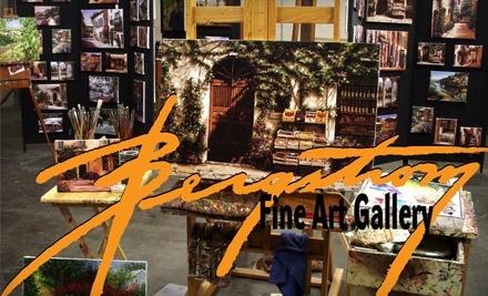 $100 Groupon to Stephen Bergstrom Fine Art - Stephen Bergstrom Fine Art in Astoria