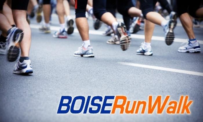 BOISE RunWalk - Boise City: $18 for a Seasonal Winter Membership ($55 Value) or $75 for an Annual Membership ($150 Value) at BOISE RunWalk