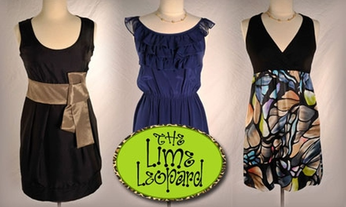 The Lime Leopard - Oklahoma City: $49 for $100 Worth of Clothing, Gifts, and Décor at The Lime Leopard