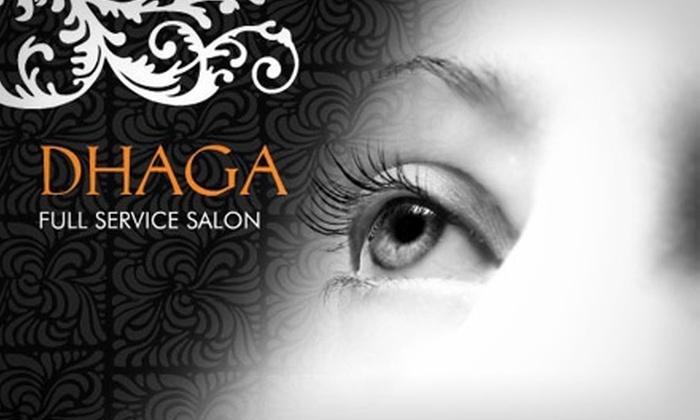 Dhaga Salon - Park Slope: $15 for $30 of Waxing, Threading, and Tinting at Dhaga Salon