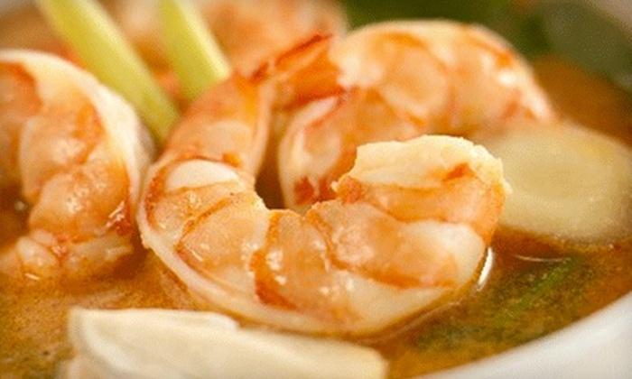 Spicy Thai Restaurant - Queenston: $12 for $25 Worth of Thai Dinner at Spicy Thai Restaurant
