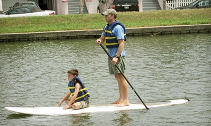NOLA Paddleboards - New Orleans: $20 for a 90-Minute Paddleboard Lesson at NOLA Paddleboards ($40 Value)