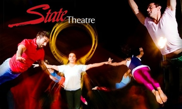 """State Theater - New Brunswick: $18 for One Ticket to """"Streb: Brave"""" at the State Theatre (Up to $45 Value) in New Brunswick"""