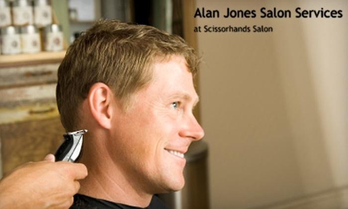 Alan Jones Services - Deer Park: $15 for a Men's Haircut at Alan Jones Services at Scissorhands Salon