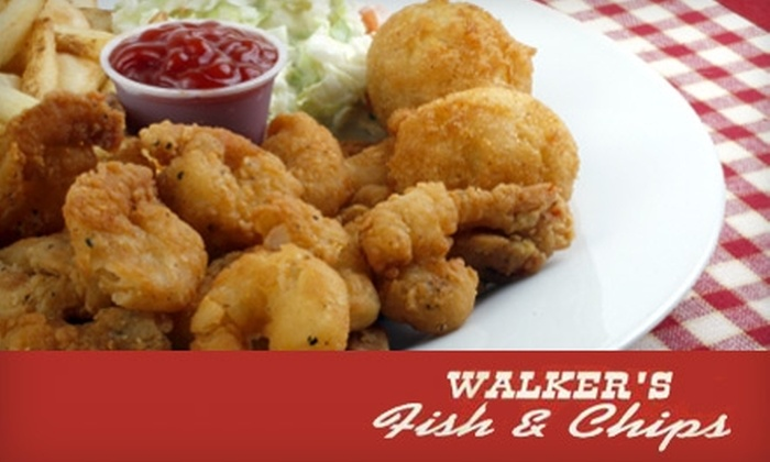 Walkers Restaurant - Central London: $10 for $20 Worth of Fish 'n' Chips at Walkers Restaurant or HeyDayz