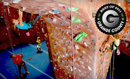 ClimbX Indoor Rock Climbing - ClimbX Indoor Rock Climbing in Huntington Beach