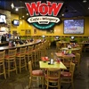 Half Off at Wow Cafe and Wingery