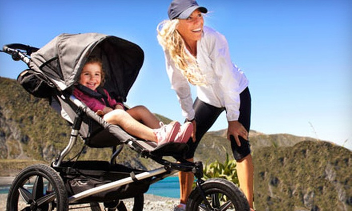Baby Boot Camp - Multiple Locations: $37 for One Month of Unlimited Mom-and-Baby Fitness Classes at Baby Boot Camp ($85 Value)