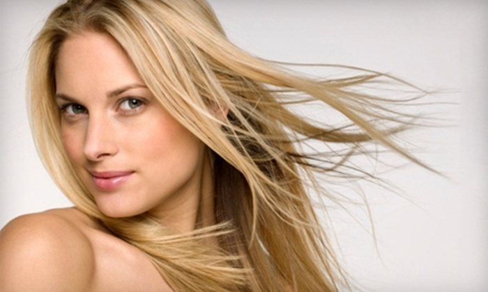 Aviation Blonde Hair Design - Victoria: $39 for Custom Wash, Cut, and Dry at Aviation Blonde Hair Design (Up to $78.40 Value)