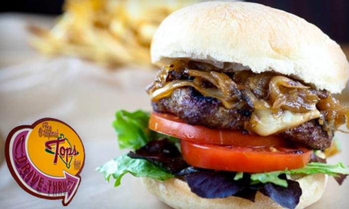 The Original Tops - East Pasadena: $5 for $10 Worth of Burgers, Sandwiches, and More at The Original Tops in Pasadena