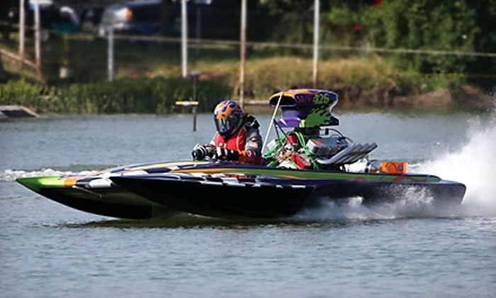 Ozarka Oklahoma City Nationals - Central Oklahoma City: $12 for a One-Day Adult Ticket to the Ozarka Oklahoma City Nationals Drag-Boat Race on June 11 or 12 from OKC Motorsports ($24 Value)