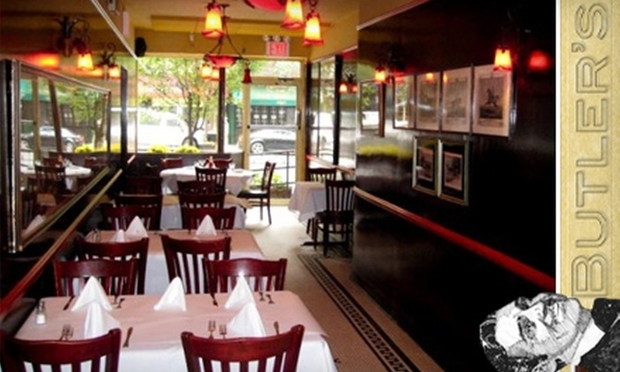 Butler's - Midtown East: $15 for $30 Worth of Comfort Fare and Spirits at Butler's