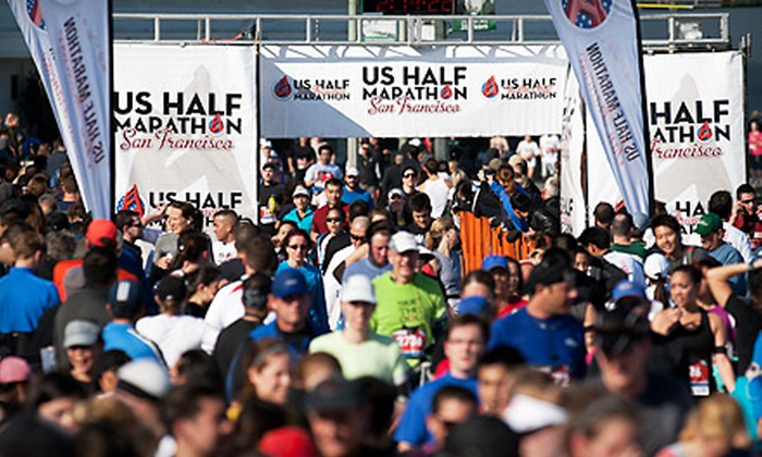 U.S. Half Marathon San Francisco: $85 for a VIP Race Package at the U.S. Half Marathon San Francisco on November 6 ($175 Value)