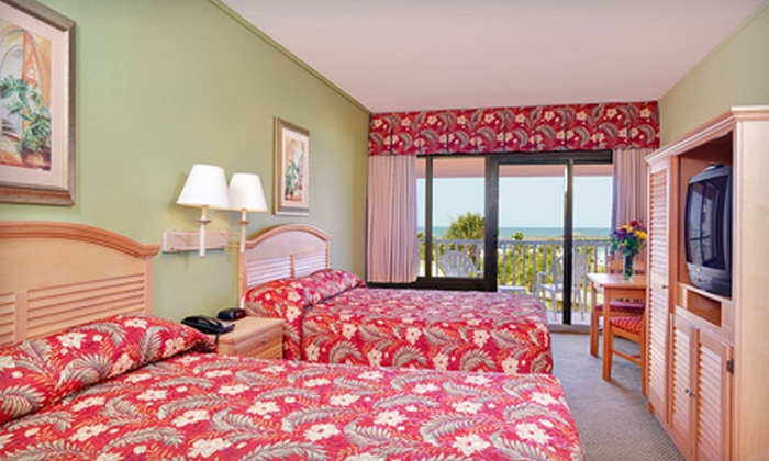 Springmaid Beach Resort - Myrtle Beach, SC: One-Night Stay at Springmaid Beach Resort in Myrtle Beach (Up to Half Off). Three Options Available.