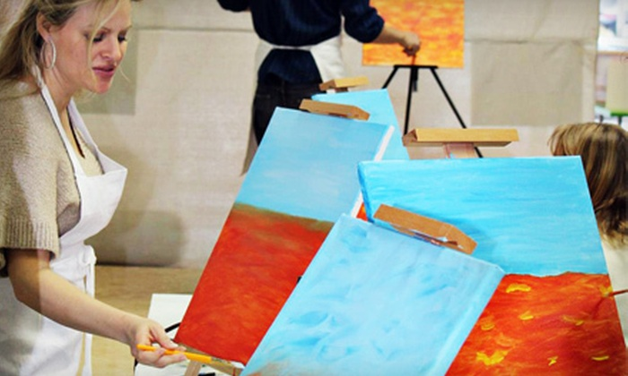 Paint 'n Sip - Collister: $22 for a Painting Class at Paint 'n Sip (Up to $45 Value)
