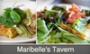Maribelles Tavern CLOSED - East Walnut HIlls: $15 for $30 Worth of Drinks and Dining at Maribelle's Tavern