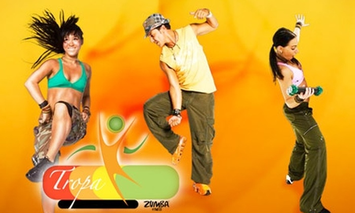 Studio Tropa - Gulfton: $20 for Five Zumba Fitness Classes at Studio Tropa ($75 Value)