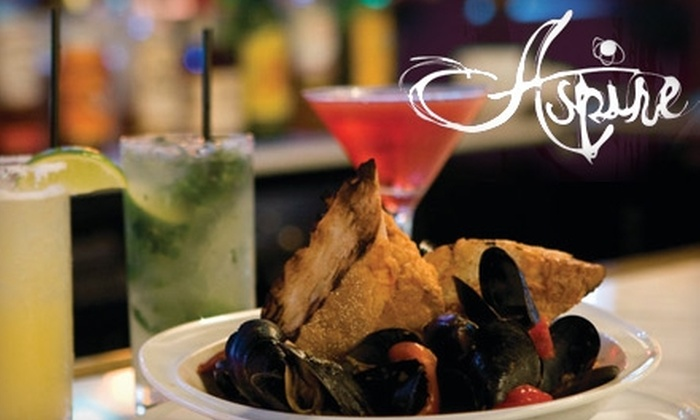 Aspire - Downtown Providence: $25 for $50 Worth of Contemporary American Cuisine and Drinks at Aspire