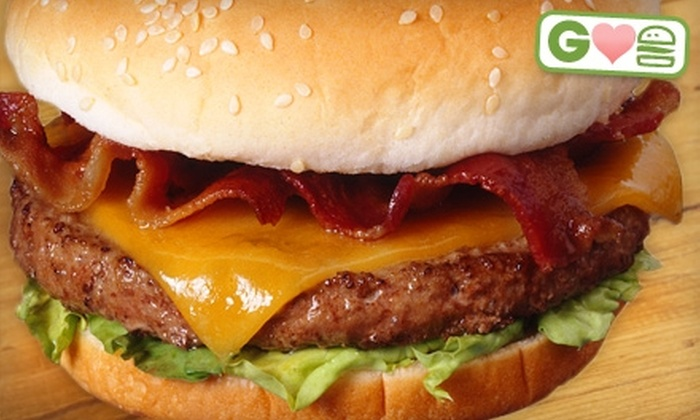 The Sports Tap and Grill or Coppers Pub - Kingston: $11 for Two Fat City Burgers and Fries at The Sports Tap and Grill or Coppers Pub (Up to $21.98 Value)