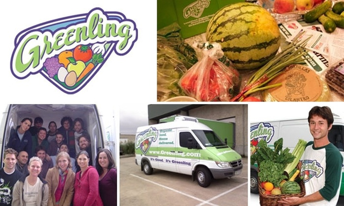 Greenling Groceries - Austin: $25 for $50 of Greenling Organic Groceries Delivered at Home