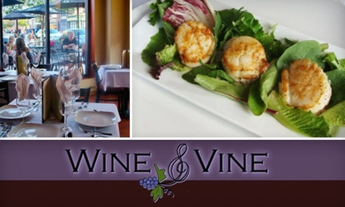 Wine & Vine - Elmhurst: $20 for $40 Worth of Elegant Fare and Drinks at Wine & Vine