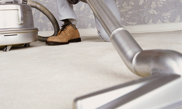 New Life Dry Carpet Care - Atlanta: $59 for Carpet Cleaning for Two Rooms and Hallway or Stairs from New Life Dry Carpet Care ($120 Value)