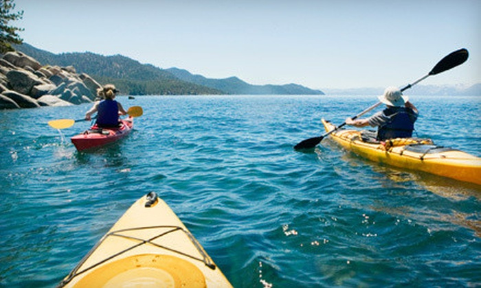 Issaquah Paddle Sports - Lake Sammamish State Park: Paddleboard, Kayak, or NuCanoe Kayak Rental from Issaquah Paddle Sports (Up to 60% Off). Four Options Available.