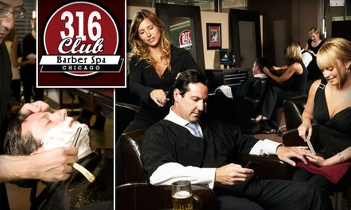 316 Club - Loop: $45 for the Pit Boss Haircut at the 316 Club ($95 Value)