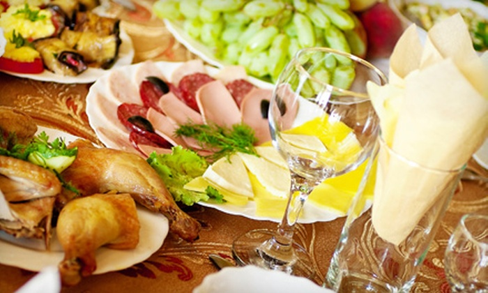 Dining Delicacies - South End: Personalized Four-Course Appetizer-and-Dessert Party for Four or Eight from Dining Delicacies