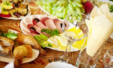 4-Course Appetizer and Dessert Party for 4 (a $125 value) - Dining Delicacies in