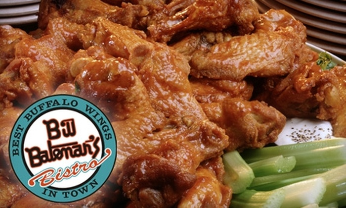 Bill Bateman's Bistro - Multiple Locations: $15 for $30 Worth of Wings, Other Pub Fare, and Brews at Bill Bateman's Bistro