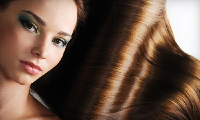 Calm Waters Salon - Ballantyne East: $50 for a Women's Color, Shampoo, Haircut, Blow-Dry, and Style at Calm Waters Salon