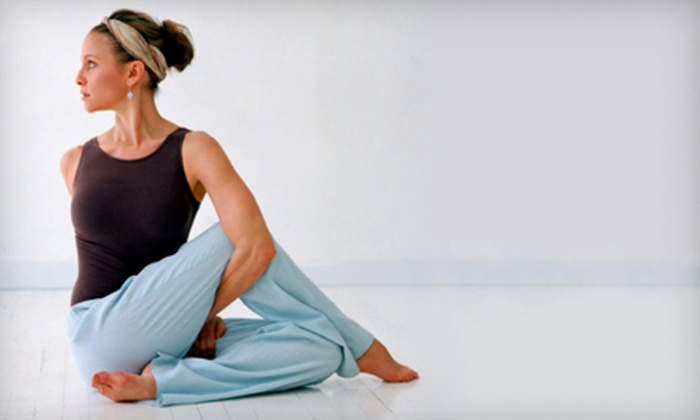 Iam Yoga - Downtown Toronto: $45 for 10 Hot Yoga and Pilates Classes at Iam Yoga ($160 Value)