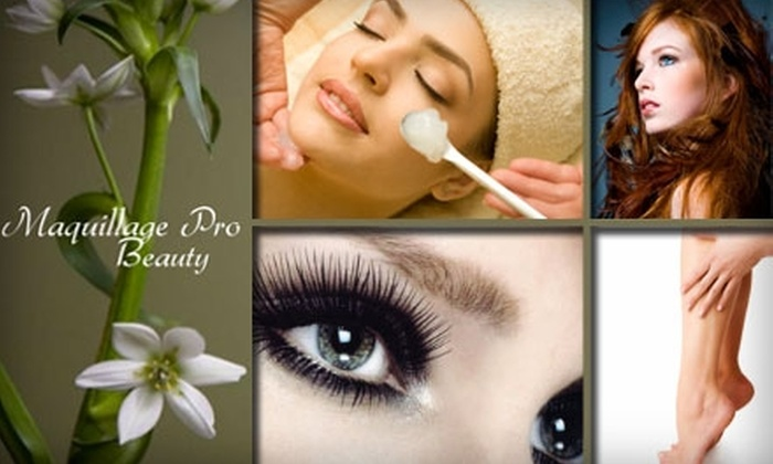Maquillage Pro Beauty - Grogan's Mill: $50 for $125 Worth of Services at Maquillage Pro Beauty