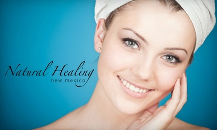 Natural Healing New Mexico - Montgomery Business Park: $39 for a Microcurrent Facial Treatment at Natural Healing New Mexico