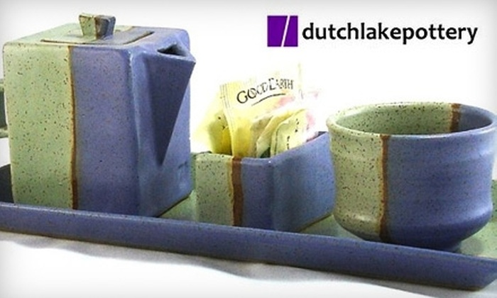 Dutch Lake Pottery - Belknap Lookout: $25 for $50 Worth of Handmade Pottery at Dutch Lake Pottery