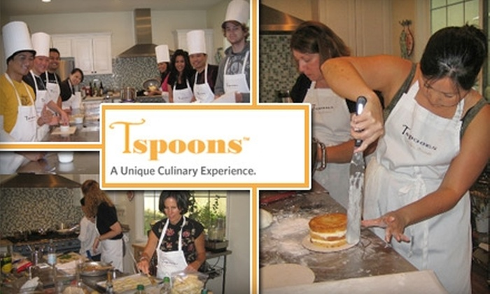 Tspoons - Trabuco: $39 for a Cooking Class at Tspoons in Ladera Ranch (Up to $79 Value)